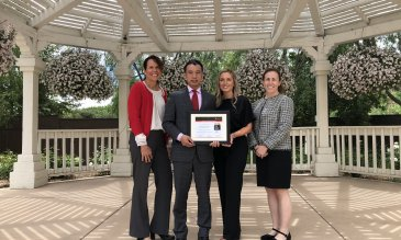 Temecula Valley Hospital Receives Mission: Lifeline Bronze Receiving Achievement Award