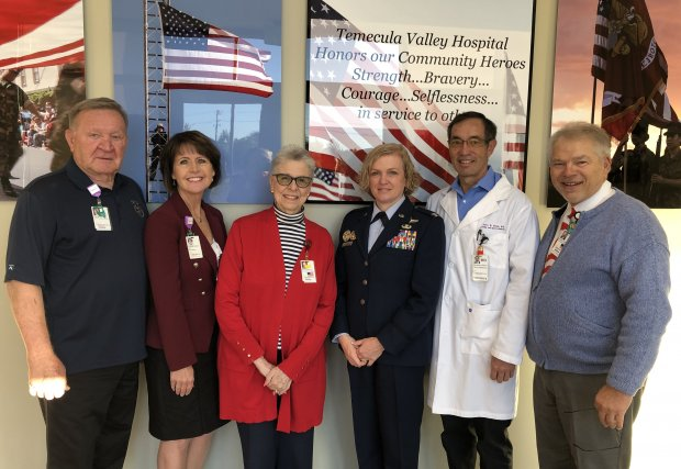 Colonel Melissa Coburn Honors Veterans