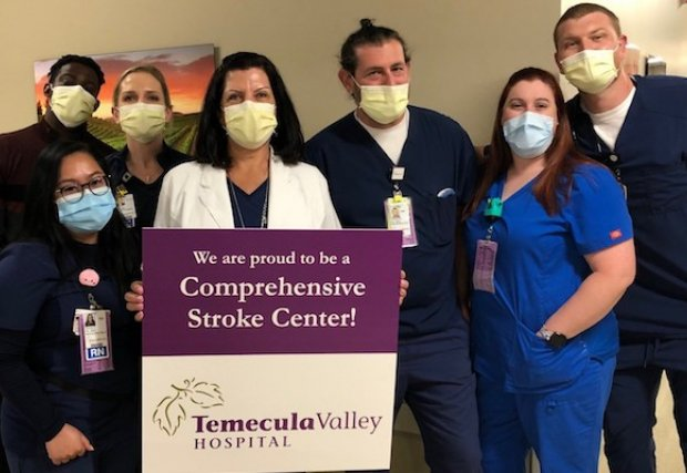 Temecula Valley Hospital Receives Comprehensive Stroke Center Certification
