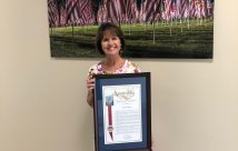 Temecula Valley Hospital's CEO is honored as a Woman of Distinction for the 75th Assembly District