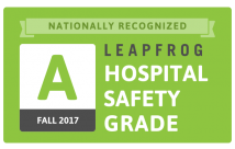 "Temecula Valley Hospital Earns ""A"" Grade for Patient Safety for the Third Time in a Row"
