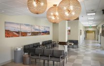 New surgery wing waiting area